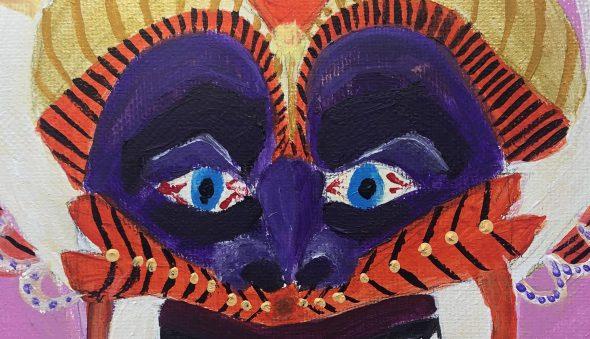 """""""Carnival Vegano Mask"""" by Eliana Kovacs"""