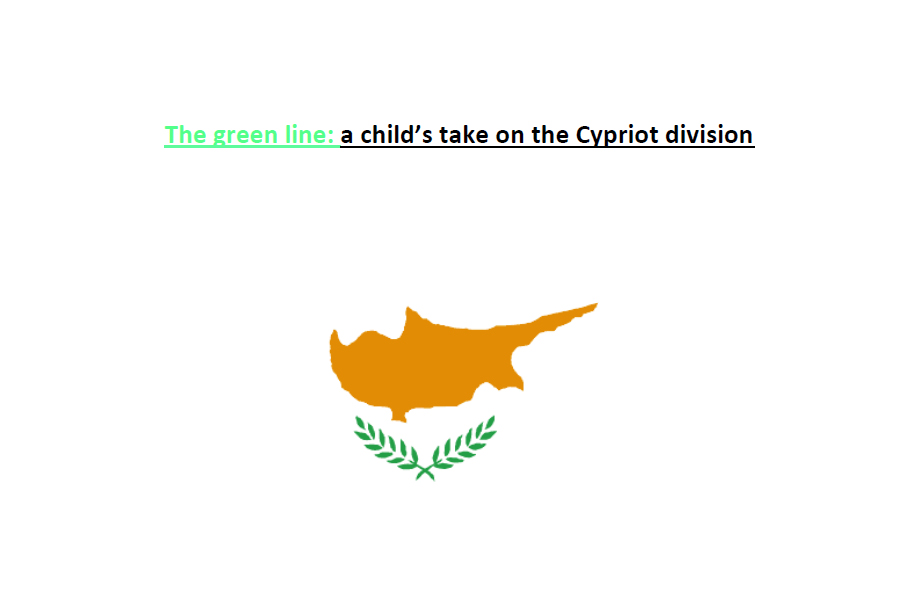 The Cyprus flag (text in description).