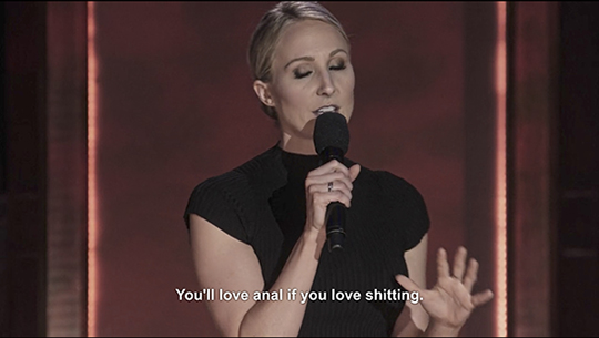 "Comedian Nikki Glaser in ""The Stand Ups"""