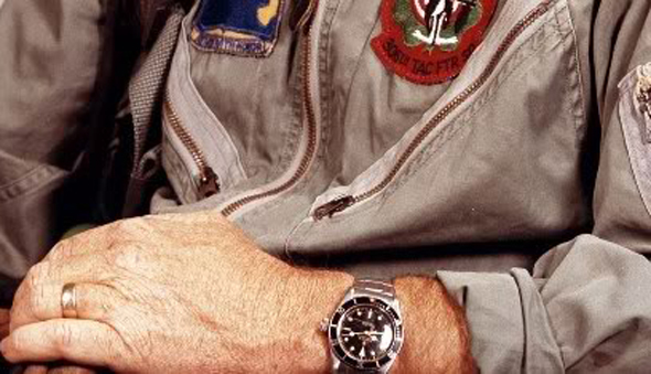 Wristwatch of a US Air Force Colonel.