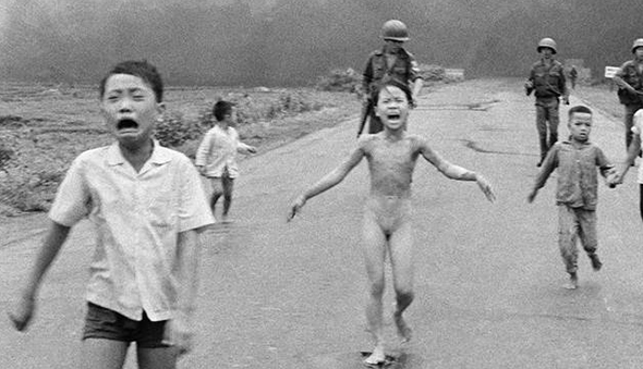 "Sara Berger's ""War Images: 'Napalm Girl'"""
