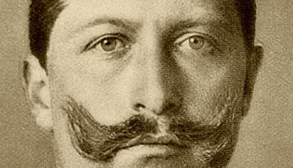 German emperor Kaiser Wilhelm