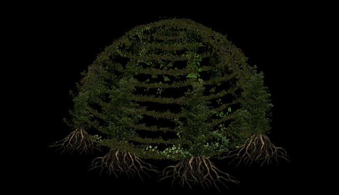 Urban Eco-Memorial by Andrew Turner Poeppel