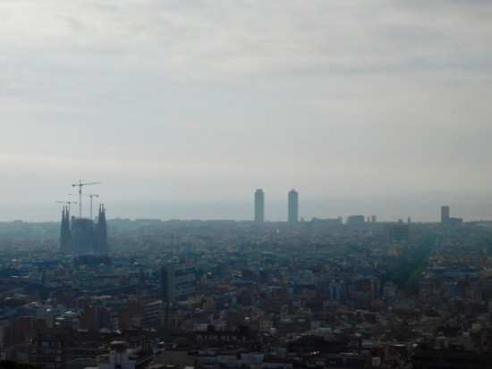 The Sagrada Familia's impact on Barcelona's cityscape.